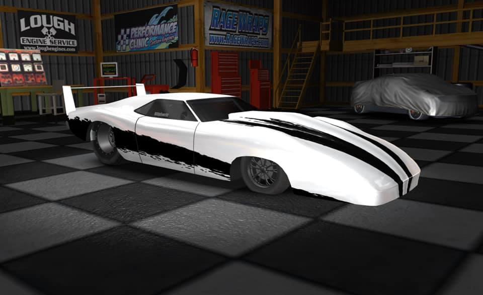 400 High Performance Chrome Emblem....Steel.....SBC SBF Hot Rod Drag Race